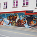 Mural in Downtown Juneau