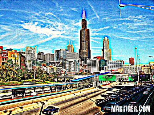 100_1785 Sears Tower Chicago HDR version NICK NAME