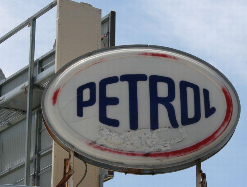 Petrol sign colour 800