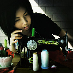 Sewing Girl (Arielynn) Tags: overtheexcellence alwaysexc