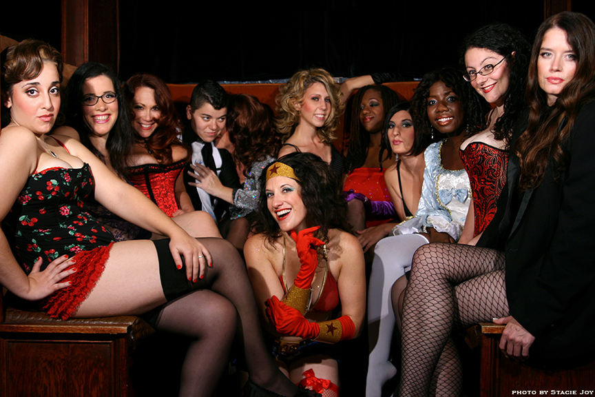 2009 NYC Sex Blogger Calendar photo shoot