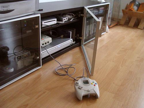Gaming Setup - Glass Door