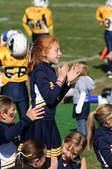 Maddie Cheering