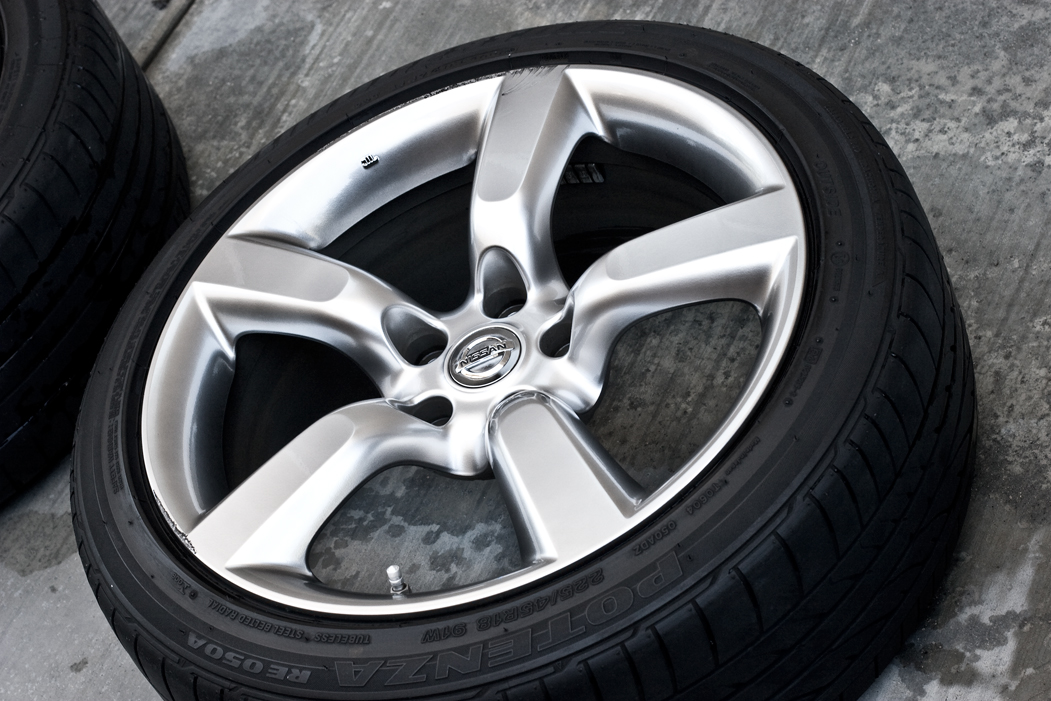 FS: 2007 350Z STOCK WHEELS SoCal - Nissan 350Z Forum ...