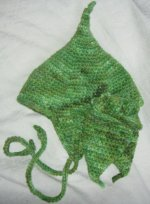 Infant Pixie Hat and Mittens from diggin' crochet on Toots McGoots -3 Day Auction