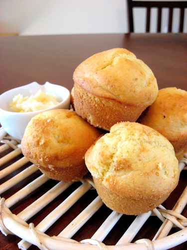 Corn Bread Muffins, Frick museum cards 002