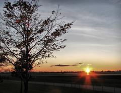 Buffalo Niagara International Airport (ShutterBugStroll) Tags: sunset color canon airplane inflight airport buffalo afterdark buffaloniagarainternationalairport canonpowershots5is cheektowags canonafterdark