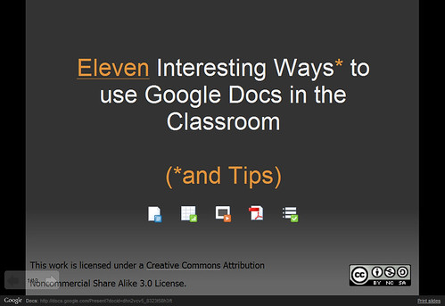 Google Docs in the Classroom