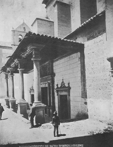 Convento de Santo Domingo el Real (Toledo) en el siglo XIX. Foto Casiano Alguacil