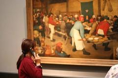 The Wedding Feast (Bruegel) (judi333) Tags: me kunsthistorischesmuseum bruegel