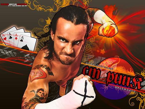 tna wallpapers. WWE CM Punk Wallpaper