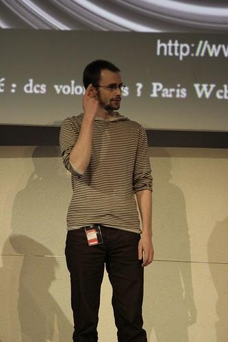 Samuel Le Morvan sur scène !