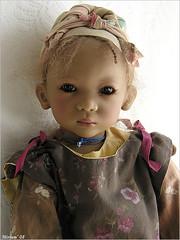 Kuki Himstedt (MiriamBJDolls) Tags: 2003 doll vinyl mohair limitededition kuki annettehimstedt himstedtkinder