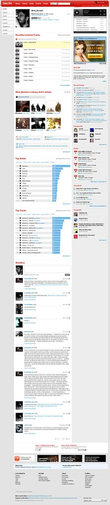 50.000 tracks played on Last.fm (screenshot)