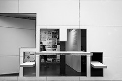 Storefront for Art and Architecture - Steven Holl (Scott Norsworthy) Tags: city nyc newyork art architecture facade gallery exterior panel manhattan interior exhibition storefront steven pivot architects boundary holl rotate swivel
