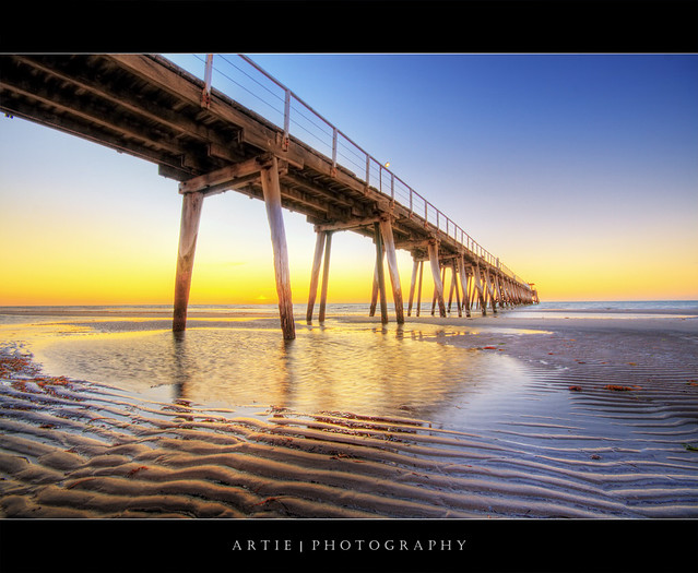 Largs Pier Jetty :: HDR