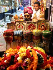 Diwali store display - Udaipur, India