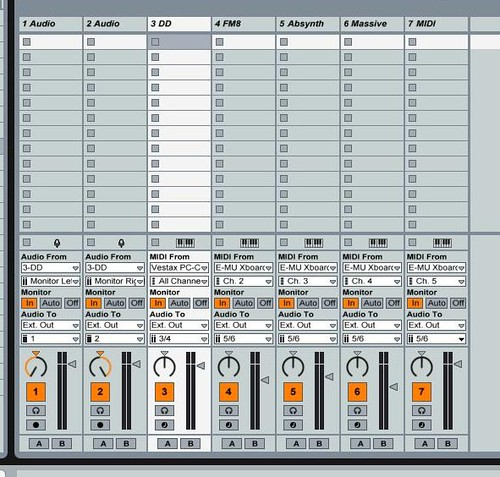 ableton setup for deckadance