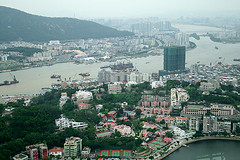 From the Macau tower