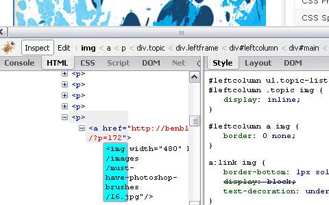 15 Add On Firefox web developer firebug