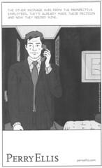 comics ad - Perry Ellis NYT06-06-30