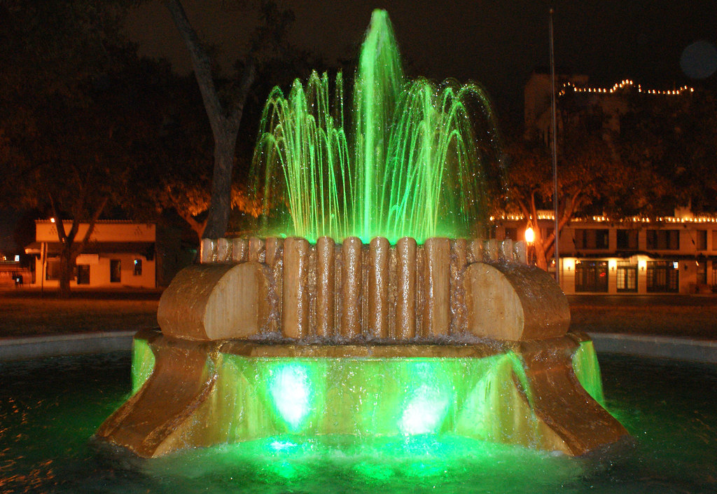 green fountain2