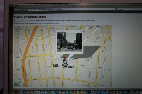 Flickr in my location