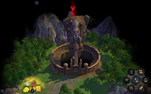 Dungeon exterior
