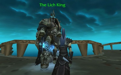 Cleitus and the Lich King