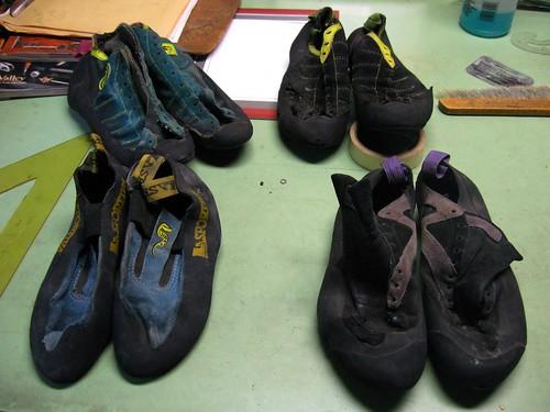 old history shoes climbing 90s boreal lasportiva climbingshoes stickyrubber myoldclimbingshoes