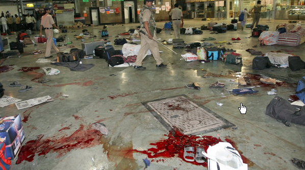 the blood at mumbai railway station