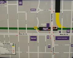 Spadina Map 2 (Sean_Marshall) Tags: toronto map ttc transit