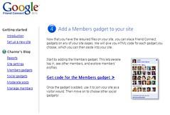 Google FriendConnect Step4