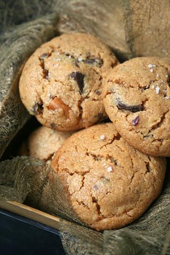 Cookies Pur Beurre de Cacahuètes et Eclats de Chocolat -