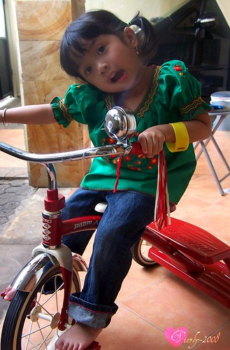 Nayla's first bike