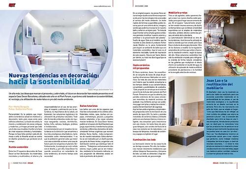 Reportaje en revista RTT