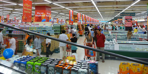 Lotte Mart Saigon Interior