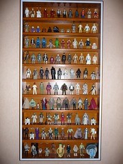 star wars vintage figure collection