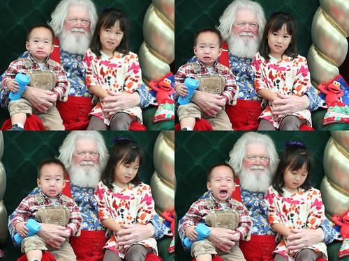 处变不惊的圣诞老人