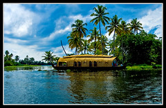 Alappuzha - house boat (kcbimal) Tags: house lake boat houseboat kerala lagoon kayal alleppy vembanad