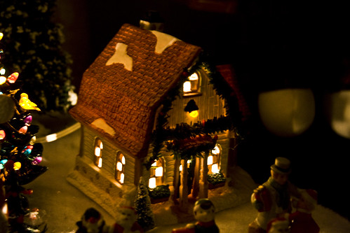 Lighted House (by Pyrodogg)
