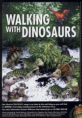 peluchines de Caminando entre Dinosaurios