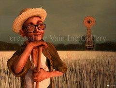 A farmer (Raffaello Robbiani) Tags: gallery emotion second farmer inc vain raffaello qube theqube robbiani lifeavatar