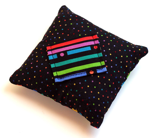 Tooth Fairy pillow: front