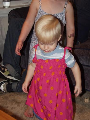 'Melia's dress