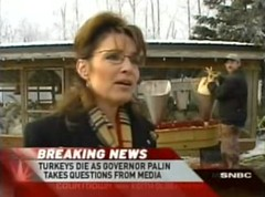 Sarah Palin - Turkeys Die...
