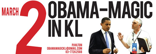 Obama Magic in KL