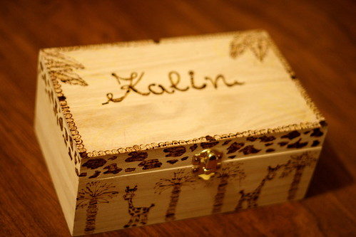 Kalin's pencil box