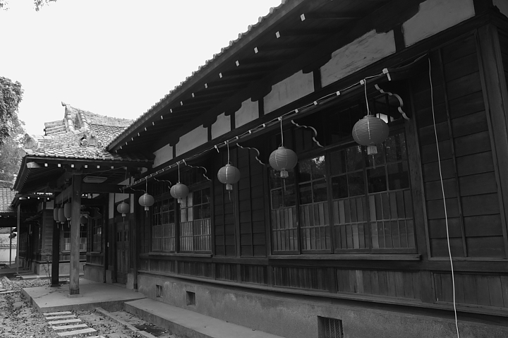 嘉義市史蹟資料館(黑白)20
