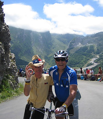 Eddy & Jimmy on the Aubisque